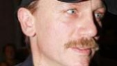 Next up: Daniel Craig, sporting a nifty moustache for his role in <I>A Steady Rain</I>.