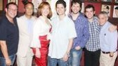 Alice Ripley at Sardi's – Michael Greif – Jeff Mahsie – Alice Ripley – Tom Kitt – Louis Hobson – Adam Chanler-Berat – David Stone