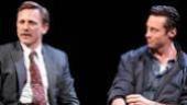 """Daniel Craig & Hugh Jackman in """"A Steady Rain"""""""