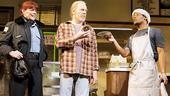Kate Buddeke, Michael McKean and Jon Michael Hill in Superior Donuts.