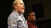 Superior Donuts Opening Night – Michael McKean – Jon Michael Hill (curtain call)