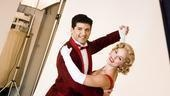 White Christmas photo shoot 2009 – Tony Yazbeck – Mara Davi (dancing)