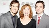 Prepare to see more of Mark-Paul Gosselaar, Julie White and Justin Kirk very soon. The trio opens the Roundabout&#39;s off-Broadway comedy The Understudy on November 5.