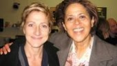 Anna Deavere Smith may play the straight-laced thorn in Edie Falco's Nurse Jackie's side (with hilarious results), but it's all an act. Off-screen, the two get along swimmingly.