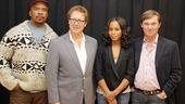 Race meet and greet - David Alan Grier - James Spader - Kerry Washington - Richard Thomas
