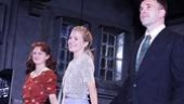 Tony Award nominee Marin Ireland looks on as her two co-stars, Sienna Miller and Jonny Lee Miller, soak up their Broadway debuts.