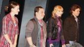 Ordinary Days Opening - Kate Wetherhead - Jared Gertner - Lisa Brescia - Hunter Foster