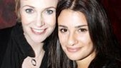 Glee Visits Love, Loss and What I Wore – Jane Lynch – Lea Michele