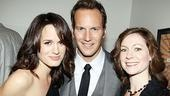 Patrick Wilson gets between a couple of fellow presenters with serious vampire cred: Elizabeth Reaser (Twilight) and Carrie Preston (True Blood).
