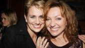 Besties! Cady Huffman and BFF Julie White usually hit the red carpet together. Tonight, Huffman flies solo to catch her favorite wingwoman onstage.