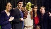 Shrek first anniversary – Sutton Foster – Ben Crawford – Brian d'Arcy James – Jeanine Tesori – David Lindsay-Abaire