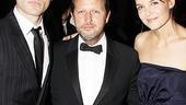 How did Rob Ashford entice Jude Law and Katie Holmes to attend the Stage Directors and Choreographers Society gala? He and Law are pals from London's Donmar Warehouse, and Ashford directed Holmes in a workshop of Finding Neverland.