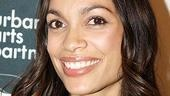 Rosario Dawson appeared in Nathan Louis Jackson's Furry Little Angel alongside Ashton Kutcher, Michael Ealy, Tracie Thoms and Eva Mendes.