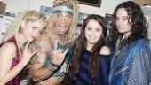 Miley Cyrus at Rock of Ages  Kerry Butler  James Carpinello  Miley Cyrus  Constantine Maroulis