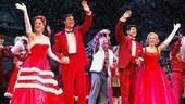 White Christmas Opening 2009  cc- Melissa Errico - James Clow - Tony Yazbeck - Mara Davi