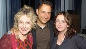 Pack moves on to congratulate Carol Kane, late of Wicked, and Rachel Dratch, late of Saturday Night Live.
