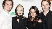 Lea Michele and Jonathan Groff cabaret – Jonathan Groff – Cyndi Lauper – Lea Michele – Van Hansis