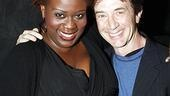 "Martin Short congratulates former co-star Capathia Jenkins, who memorably sang about being the ""big black lady"" who ""stops the show"" in his 2006 Broadway comedy Fame Becomes Me."