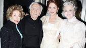 Kirk Douglas at A Little Night Music - Anne Buydens - Kirk Douglas - Catherine Zeta-Jones - Angela Lansbury