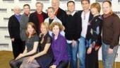 Present Laughter Meet and Greet - full company - victor garber - harriet harris - brooks ashmanskas - nicholas martin