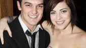 Addams Family Chicago opening  Wesley Taylor  Krysta Rodriguez
