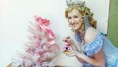 Our own Glinda is obviously extra good and very nice, just like the festive actress who plays her, Erin Mackey.