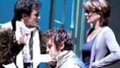 Ed Stoppard, Dan Stevens and Samantha Bond in 'Arcadia'