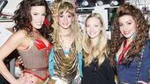 Amanda Seyfried and Dominic Cooper at Rock of Ages - Katherine Tokarz - Emily Padgett - Amanda Seyfried - Angel Reed