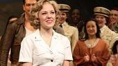 Laura Osnes South Pacific Return  Laura Osnes (bow)