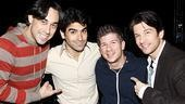 Altar Boyz reunion 2009 – Ryan Duncan – Mauricio Perez – Lee Markham – Andy Karl