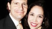 ...In the Heights' Andrea Burns and husband Peter Flynn...