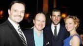 Present Laughter Opening - Julian Havard - James Joseph O'Neil - Zachary Quinto - Emily Bergl