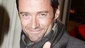 "Liev Schreiber's X Men Origins: Wolverine co-star Hugh Jackman gives his ""brother"" a thumbs-up."