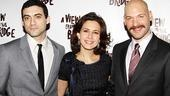 View from the Bridge Opening Night  Morgan Spector  Jessica Hecht  Corey Stoll