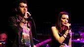 Damiano and Chanler-Berat at Joe's Pub - Adam Chanler-Berat - Jennifer Damiano (onstage)