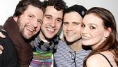 Damiano and Chanler-Berat at Joe's Pub – Louis Hobson – Adam Chanler-Berat – Kyle Dean Massey – Jennifer Damiano