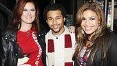 Jordin Sparks at In the Heights - Jodi Sparks - Corbin Bleu - Jordin Sparks