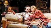 Laurie Metcalf, Josh Hamilton and Marin Ireland in A Lie of the Mind.