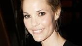 Speaking of Sam Rockwell, here's his lovely girlfriend (and Iron Man 2 co-star) Leslie Bibb.