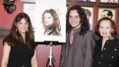 Constantine Maroulis at Sardi's – sister – mother