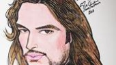 Constantine Maroulis at Sardi&#39;s - The Portrait