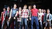 American Idiot Sound Check - Michael Esper - John Gallagher Jr - Stark Sands - company