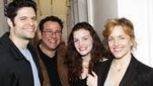 Bill and Hillary Clinton at Next to Normal – Tom Kitt – Michael Greif – Jennifer Damiano – Alice Ripley
