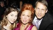The Addams Family opening – Carolee Carmello – Gregg Edelman – daughter Zoe