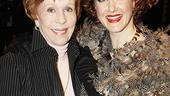 Burnett &amp; Mullally at Promises, Promises  Carol Burnett  Katie Finneran