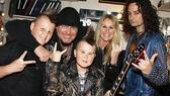 Star Constantine Maroulis fits right in with Jim Gillete, Lita Ford and the rest of family.