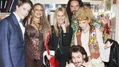 Lita Ford at Rock of Ages  Derek St. Pierre  Michele Mais  Lita Ford  Adam Dannheisser  Lauren Molina  Mitchell Jarvis