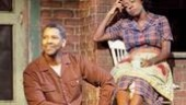 Denzel Washington as Troy and Viola Davis as Rose in Fences.