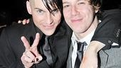 St. Jimmy and the Jesus of Suburbia themselves! Co-stars Tony Vincent and John Gallagher Jr. are pals in the show and offstage, too.