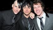 Smile, guys! Green Day frontman Billie Joe Armstrong pops in on Vincent and Gallagher Jr.